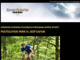 Pustolovski park in jeep safari